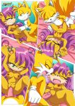 1boy 1girl a_prowerful_concert_(comic) comic miles_tails_prower mina_mongoose mobius_unleashed palcomix rating:Explicit score:13 user:Christianmar762