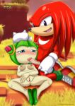 bbmbbf cosmo_the_seedrian knuckles_the_echidna mobius_unleashed palcomix rating:Explicit score:3 user:painman80