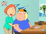 chris_griffin family_guy incest lois_griffin mom_son taboo wet_pussy