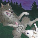 arashi_no_yoru_ni gabu mei stormy_night wolf