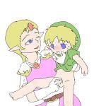 legend_of_zelda princess_zelda the_legend_of_zelda young_link
