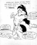 cat furry jay_naylor jay_naylor_(artist) monochrome tagme