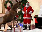 bestiality christmas deer santa_claus tagme
