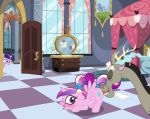 alicorn blush cunnilingus cutie_mark discord draconequus friendship_is_magic horn indoors interspecies male/female my_little_pony open_door oral princess_cadance pussy_juice pussylicking tail tail_bow top-down_bottom-up twilight_sparkle twilight_sparkle_(mlp) unicorn vaginal_juices window wings
