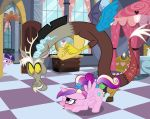 alicorn blush cum cum_in_pussy cum_inside cutie_mark discord draconequus friendship_is_magic horn indoors interspecies looking_at_each_other male/female my_little_pony open_door princess_cadance sex tail top-down_bottom-up twilight_sparkle twilight_sparkle_(mlp) unicorn vaginal vaginal_penetration vaginal_sex window wings