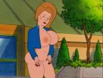 ass big_breasts bottomless king_of_the_hill nipples peggy_hill thighs