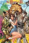 cowardly_lion dog dorothy_gale j_scott_campbell_(artist) scarecrow tagme the_wizard_of_oz tin_man watermark