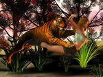 3d animal bestiality feline female feral hetero human interspecies male tiger zoo