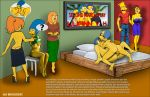 american_dad bart_simpson family_guy francine_smith incest lois_griffin luann_van_houten marge_simpson meg_griffin milhouse_van_houten monocone mother_&_son shaved_pussy stockings the_simpsons