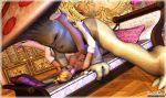 1girl 3d anal breasts fellatio mario_(series) mongobongo_(artist) monster nipples penis princess_peach sex
