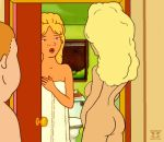 ass bathroom blonde bobby_hill gif guido_l king_of_the_hill luanne_platter nancy_gribble nude towel