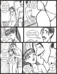 1_boy 1_female 1_girl 1_male 2_human age_difference ay_papi_6 big_penis black_hair bra closed_eyes comic daughter duo english_text erection father father/daughter father_and_daughter female female_human hair hairless_pussy human human/human human_only incest jabcomix julia_(ay_papi) long_hair male male/female male_human monochrome mostly_nude multiple_human panties penis pussy richard_(ay_papi) sitting standing tears teen topless underwear