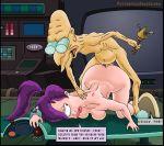 big_breasts breasts futurama prof._hubert_j._farnsworth tagme turanga_leela