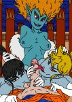 dbart+18 dragon_ball dragon_ball_z princess_snake princess_snake's_servant servant sex son_goku