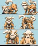 2boys anal anal_penetration anal_sex anilingus anus arcanine ass cum cum_in_ass cum_inside duo erect_penis erection fellatio human human/pokemon licking_penis male male/male male_only multiple_boys multiple_penises naked nintendo nude onomatopoeia oral oral_penetration oral_sex pokemon pokemon_(anime) rimming sex