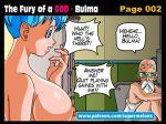 bath bathing bathroom breasts bulma bulma_brief comic dragon_ball dragon_ball_super dragon_ball_z master_roshi old_man roshi spying super_melons