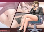 1280x960 1girl adjusting_glasses ass bent_over breasts business_suit choker cleavage formal g-string galge galge.com glasses high_heels huge_breasts lace_panties legs legs_crossed long_legs looking_at_viewer miniskirt panties pencil_skirt shoes sitting skirt skirt_suit suit tatsunami_youtoku teacher thighs thong underwear upskirt wallpaper youtoku_tatsunami zoom_layer
