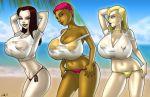 batman_beyond breasts dana_tan dc dcau max_gibson melanie_walker ten wet_t-shirt wilko wilko_(artist)