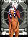 2girls ahsoka_tano female lesbian shaak_ti star_wars yuri