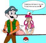 brock chansey joy nurse nurse_joy pokemon takeshi weegee