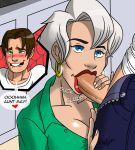 aeolus aunt_may fellatio hair incest marvel oral peter_parker short_hair spider-man ultimate_spider-man