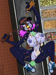 big_breasts breasts caramel female greg_panovich hat ice_cream nekkie_niceburgs penguin pussy wink