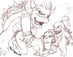 bowser bowser_jr lazydez nintendo super_mario_bros. teenage_mutant_hero_turtles teenage_mutant_ninja_turtles venus_de_milo