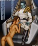 alien ass chiss clothed_male_nude_female fellatio female_human grand_admiral_thrawn human interspecies oral princess_leia_organa pussy shabby_blue star_wars
