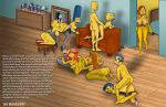 american_dad anal anal_sex bart_simpson crossover doggy_position erect_penis family_guy francine_smith incest lisa_simpson lois_griffin luann_van_houten maggie_simpson marge_simpson meg_griffin milhouse_van_houten monocone mother_&_son shaved_pussy stockings the_simpsons