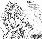 mai_kujaku mai_valentine tagme yu-gi-oh! yuu-gi-ou