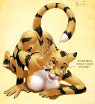 1_girl earring feline furry oot_(artist) solo