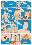 big_breasts breasts comic family_guy kevin_swanson lois_griffin nude penis