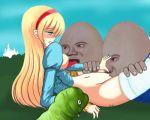 alice alice_in_wonderland animated humpty_dumpty pussylicking