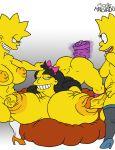 bart_simpson jessica_lovejoy josemalvado lisa_simpson tagme the_simpsons yellow_skin