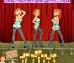 ass ball_gag breasts chains family_guy high_heels lois_griffin nipples panties see-through stockings