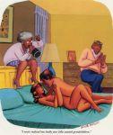 adult bedroom caption comic missionary nipples nude playboy pussy sex
