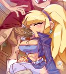 big_breasts bigdad blonde_hair dipper_pines edit fellatio gravity_falls himawari-1337 pacifica_northwest saliva tongue