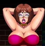 big_breasts bra family_guy meg_griffin mouth_open