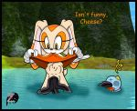 cheese_the_chao cream_the_rabbit eel sega sonic sonic_team text unbirthing zetar02 zetar02_(artist)