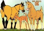 animal_sex bambi crossover deer disney faline horse klaus_doberman klaus_doberman_(artist) spirit spirit:_stallion_of_the_cimarron