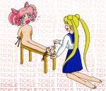 bondage chibi_usa feet pussy sailor_moon small_breasts tickling