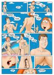 comic family_guy family_guy_holiday_in_spain kevin_swanson kikebrikex_(artist) lois_griffin