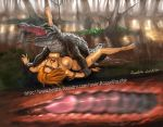 alligator beastiality bestiality cavewoman crocodile female feral forced hetero interspecies male penetration penis pussy reptile rosselito_(artist) scalie vaginal vaginal_penetration