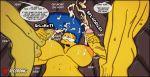 bart_simpson big_breasts cum erection incest marge_simpson masturbation the_simpsons