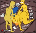 ass bart_simpson big_breasts cum incest marge_simpson nude spitroast the_simpsons