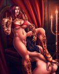 2girls cunnilingus female lesbian multiple_girls personalami_(artist)