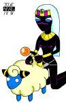 3pac crossover duck_dodgers mareep pokemon queen_tyr'ahnee