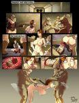 bib_fortuna comic female gamorrean princess_leia_organa rosselito_(artist) star_wars studio-pirrate_(artist)