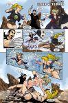comic hot_duels naruto r_ex_(artist) temari