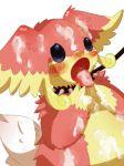ambiguous_gender audino blue_eyes blush collar cum cum_on_face leash open_mouth pokemon pokã©mon rate tears tongue tongue_out